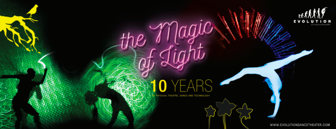THE MAGIC OF LIGHT _ 10 years of eVolution dance theater - eVolution dance theater